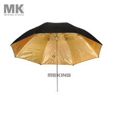 Selens Photo Studio Lighting Umbrella Fibre Frame 84cm/33″ Black Gold Umbrellas