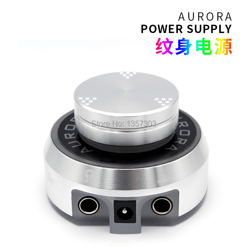 Professional Aurora Tattoo Power Supply with Power Adaptor for Coil & Rotary Tattoo MachinesProfessional Aurora Tattoo Power Supply with Power Adaptor for Coil & Rotary Tattoo Machines