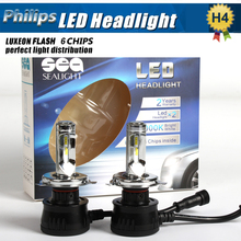Car-Styling Par New Super bright 24 V 90 W LED H4 9003 de Niebla Linterna de la luz de Conducción Diurna P hilips Chip LED de La Lámpara