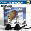 Car-Styling Par New Super bright 24 V 90 W LED H4 9003 de Niebla Linterna de la luz de Conducción Diurna P hilips Chip LED de La Lámpara