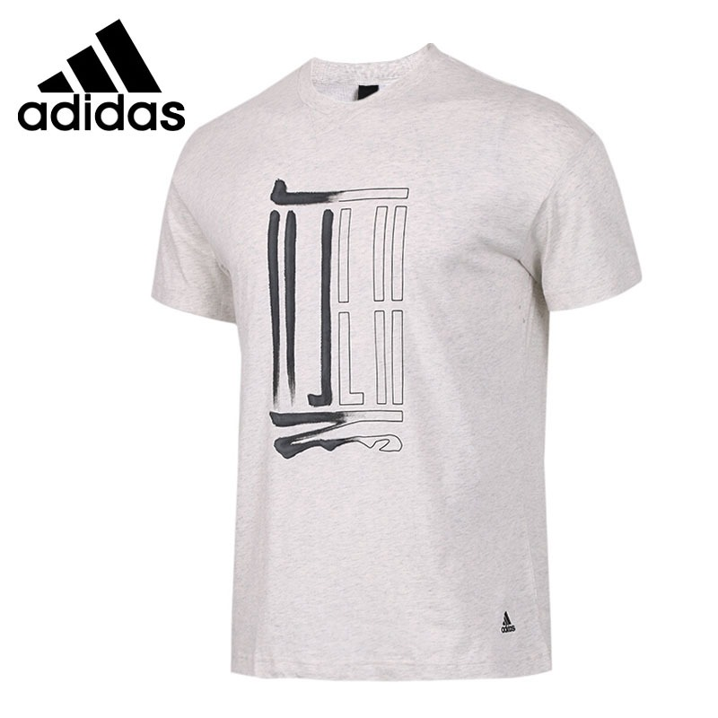 Original New Arrival  Adidas WJ GFX LOGO T Men's T-shirts short sleeve Sportswear
