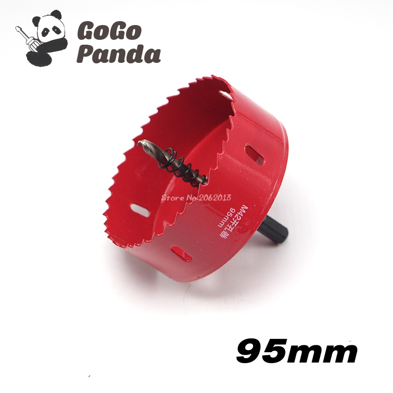 цена на Free Shipping 95mm 3.74 Bi-Metal Wood Hole Saws Bit for Woodworking DIY Wood Cutter Drill Bit