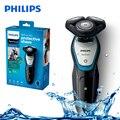 Оригинальная Электрическая Бритва Philips S5070 с моющимся комфортным лезвием  система Aquatouch  беспроводная мужская электробритва 40 мин