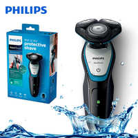 Original Philips S5070 Electric Shaver with Washable ComfortCut Blade System Aquatouch 40min Cordless for Men's Electric Razor
