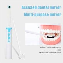 لاسلكي واي فاي الفم الأسنان كاميرا 1080p HD داخل الفم المنظار قابل للتعديل 8 مصباح ليد كابل يو اس بي الفم التفتيش لأداة طبيب الأسنان