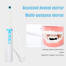Wireless WiFi Oral Dental Camera 1080p HD Intraoral Endoscope Adjustable 8 LED Light USB Cable Mouth Inspection For Dentist Tool