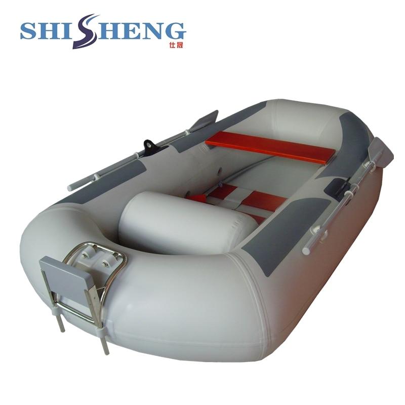 Bateau de pêche gonflable de prix concurrentiel mer a utilisé des bateaux gonflables