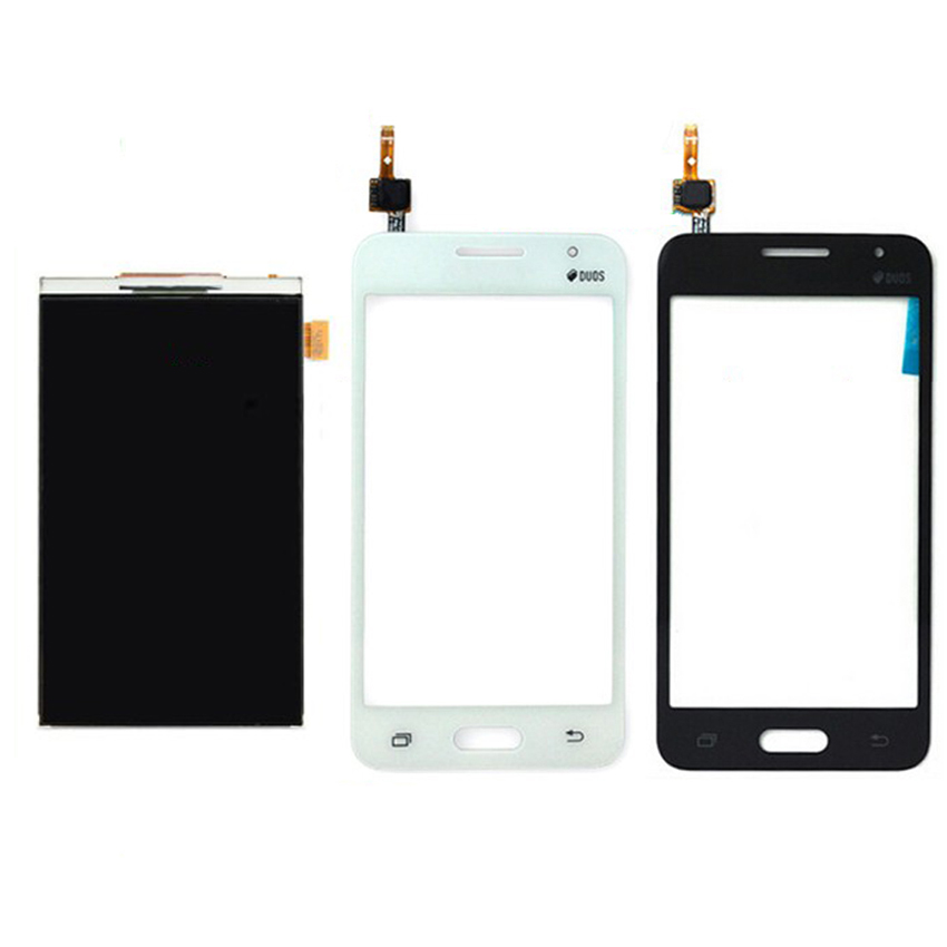 100 Warranty Tested Work Replacement LCD Display Outer Touch Screen Digitizer For Samsung Galaxy Core 2