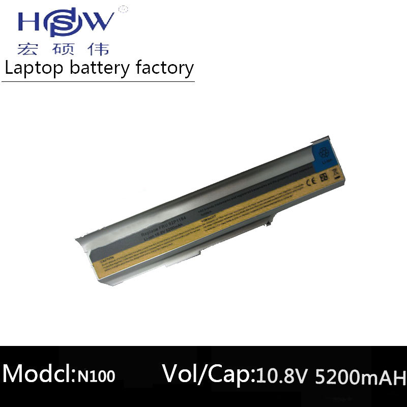 HSW rechargeable laptop battery forthinkpda 3000 N200 C200 N100 FRU42T4514 FRU42T5212,FRU42T5256,FRU92P1184,FRU92P1186 bateria