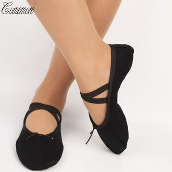 Canvas Ballet Dance Shoes For Girls Ballet Dance Dancing Shoes For Children Kids Girls Women Soft Training shoes
