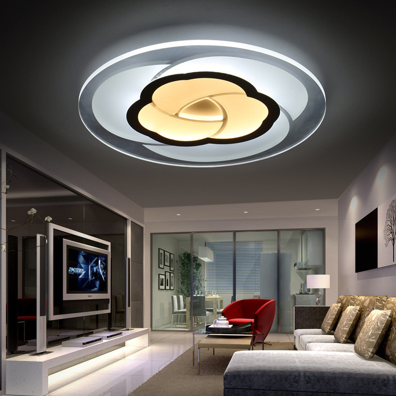 85-265V Modern Led Ceiling Lamp Bedroom Children Living Room Ceiling Lights Kitchen Restaurant Hallway Lighting Fixtures Luxury vemma acrylic minimalist modern led ceiling lamps kitchen bathroom bedroom balcony corridor lamp lighting study
