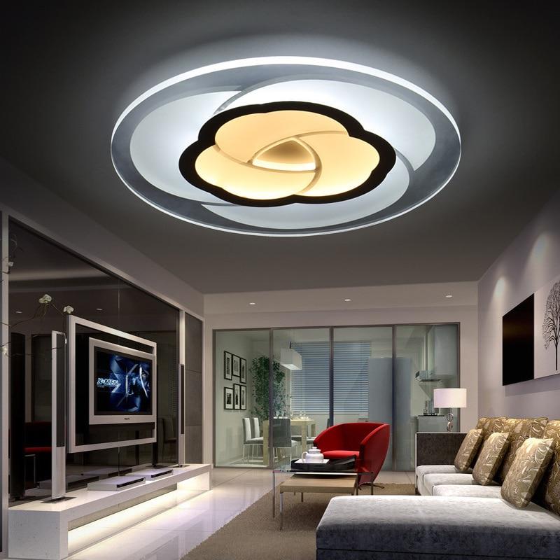 85-265V Modern Led Ceiling Lamp Bedroom Children Living Room Ceiling Lights Kitchen Restaurant Hallway Lighting Fixtures Luxury