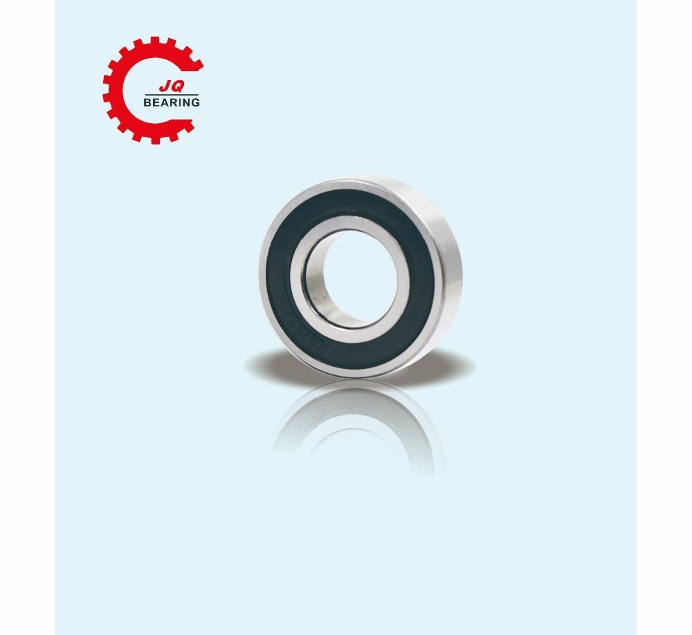 Купить с кэшбэком JQ Bearings Bearing 6201 6201RS 6201RZ 6201-2RS1 6201-2RS 12x32x10 Shielded Deep Groove Ball Bearings Single Row