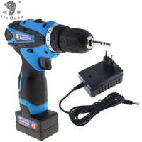 25V Electric Power Tools Electric Drill / Screwdrive Two Speed Rechargeable Lithium Battery Cordless Impact Drill