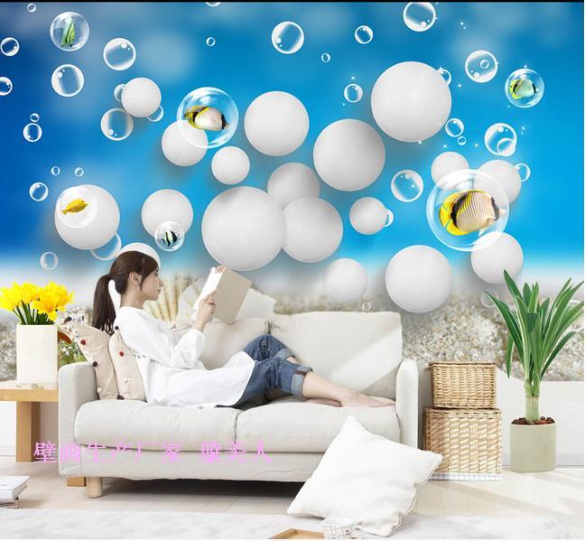Baby swimming pool wallpaper sea world dolphin theme wallpaper marine cartoon aquarium large mural wallpaper