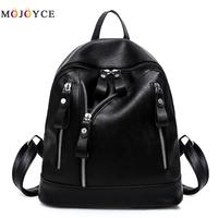 Women Backpacks 2017 Hot Sale Fashion Causal Bags High Quality Bead Female Shoulder Bag PU Leather
