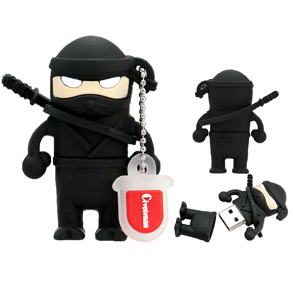 Cartoon Ninja. USB Stick Flash-geheugen Naruto 8 GB 16 GB 32 GB 64 GB - Externe opslag - Foto 2