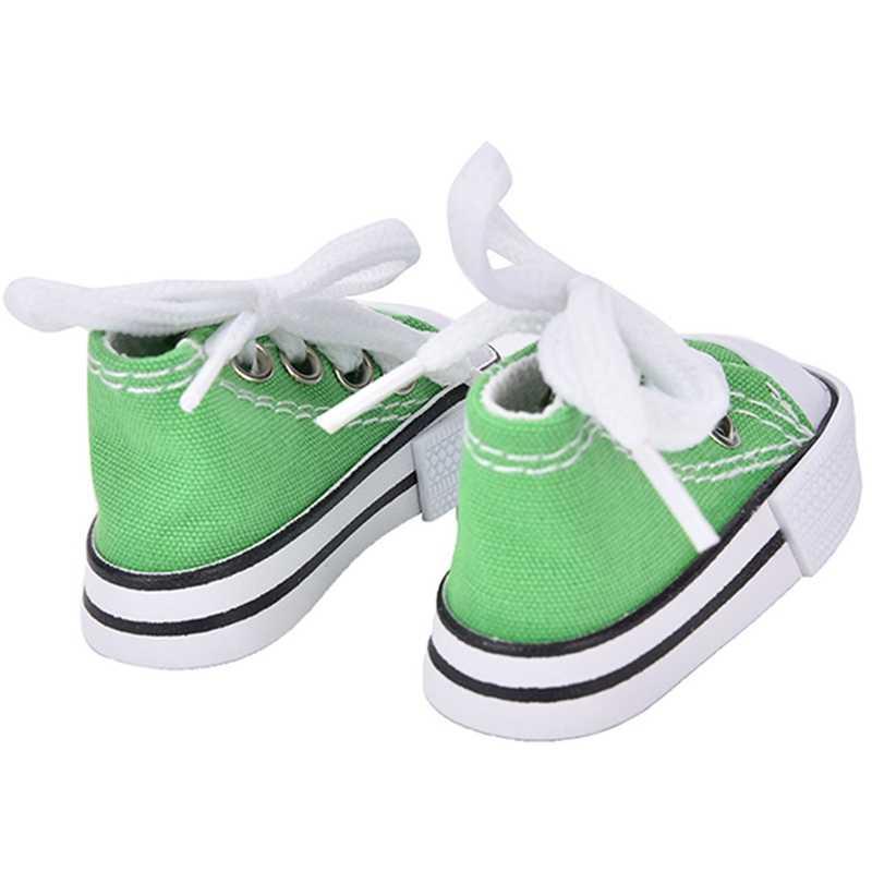 1 пара 7,5 см парусиновая обувь для куклы игрушечная мини-кукла обувь для кукла Шэрон сапоги куклы аксессуары