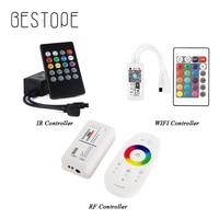 Led Controller 44 Keys 24 Tasten LED IR RF RGB Controller LED Lichter Controller RF Remote Dimmer DC12V Für RGB 3528 5050 LED Streifen