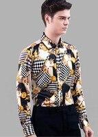 Высококачественный шелк рубашки мужской шелк тутового шелкопряда рубашка с длинным рукавом шелковый атлас Мужская лучших бизнес и туристо