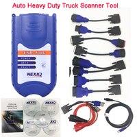 Лидер продаж NEXIQ Авто Heavy Duty Truck сканер инструмент NEXIQ USB Link Nexiq 125032 USB Link NEXIQ2 USB/Bluetooth лучше, чем DPA5
