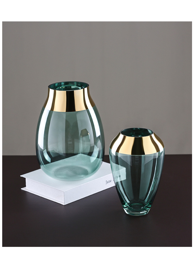 glass flower vase tabletop vases fashion european vases04