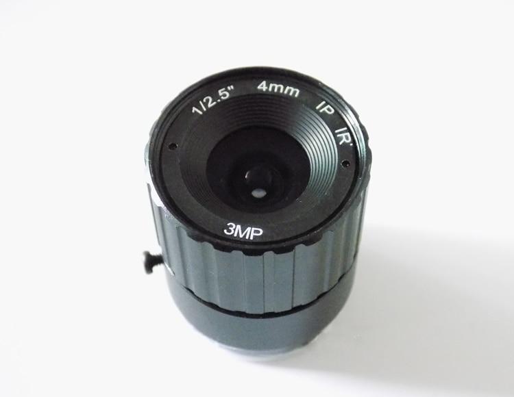 2016 New 3 Megapixel HD lens Fixed Iris IR Infrared 4mm CS Mount Lens For Security CCTV Camera