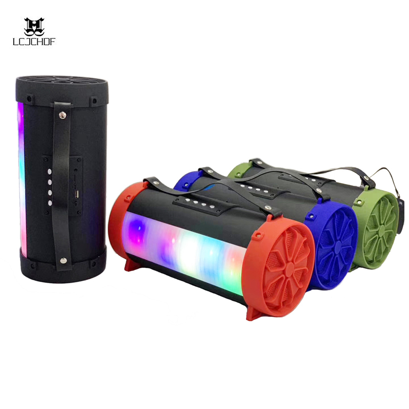 Bluetooth Speaker Subwoofer Led Hifi Portable With Super Bass Party Speaker Outdoor Speaker For Iphone Huawei Xiaomi Samsung in Portable Speakers from Consumer Electronics