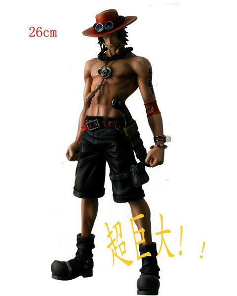 One piece manga model toys ONE PIECE -Portgas D Ace , Animation model toy. Classic cartoon figures Gifts for children герметик для ремонта мотоциклетной резины liqui moly 1579 0 3л