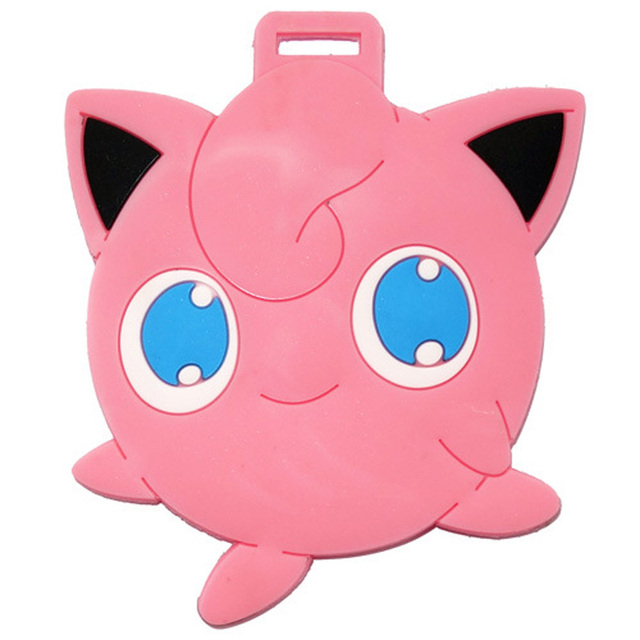 Pokemon Silica Gel Accessoires Valises Etiqueta Maleta Toy