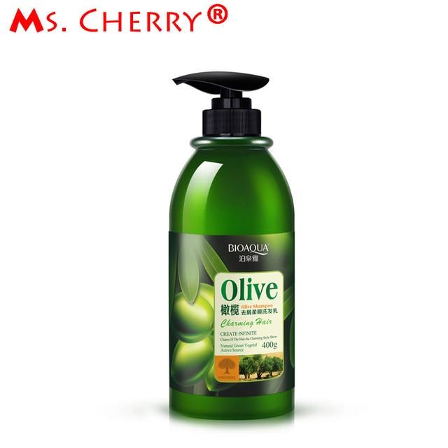 400g Olive Hair Shampoo Natural Extracts Shampoos Anti-Dandruff Oil Control Hair Moisturizing Shine Enhancing Hair Care PH018