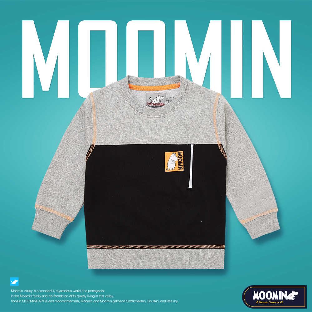 Moomin 2018 boys Active boys Character sweatshirt long sleeve boys gray  without hood o neck cartoon 65% cotton sweatshirts boys hoodie zip up hood  hoodie printhoodie cheap - AliExpress