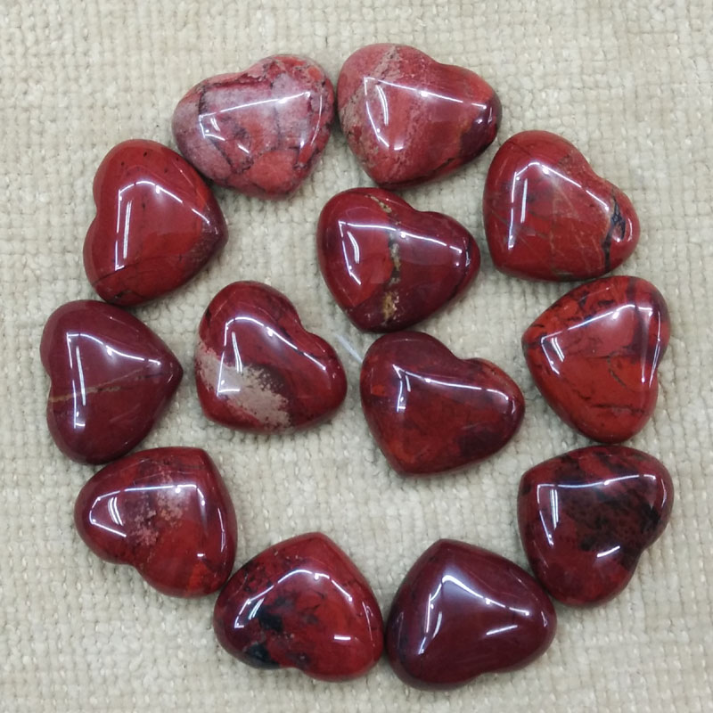 Wholesale 30pcs/lot 2017 new top quality natural rainbow stone heart shape cab cabochons beads for jewelry making 15x18mm free