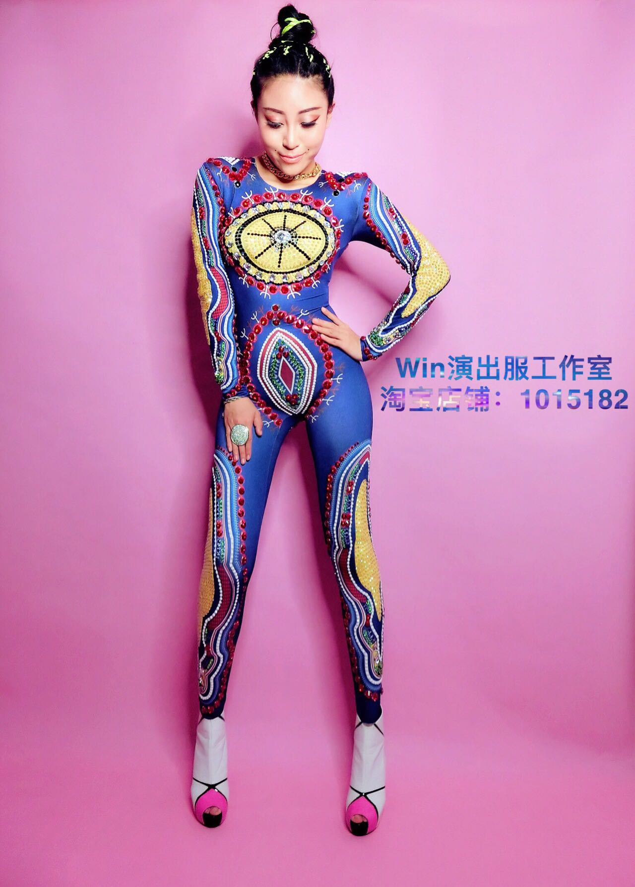 cc21292bd4db Best Seller diy customized full rhinestone high quality performance  clothing singer dancer dj DS jumpsuit costumes for women original brand For  Sale at ...