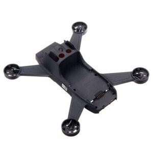 Image 5 - ללא מנוע Drone מסגרת תחביב שיכון חלפים שיפוץ התיכון מעטפת מתכת גוף כיסוי תיקון קל להתקין עבור DJI ניצוץ