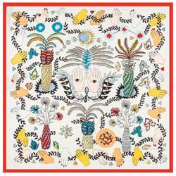 60 см * 60 см H Письмо Элитный бренд женский саржевый шелковый шарф 2018 лошадь рисунок повязка на голову шарф с принтом Новая мода небольшие