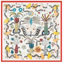 Silk Twill Print Scarf 2018