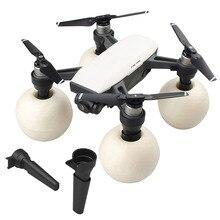 Equipo de aterrizaje flotante de la nieve del agua de XBERSTAR para el Kit de aterrizaje flotante del Dron DJI Spark para el accesorio DJI Spark