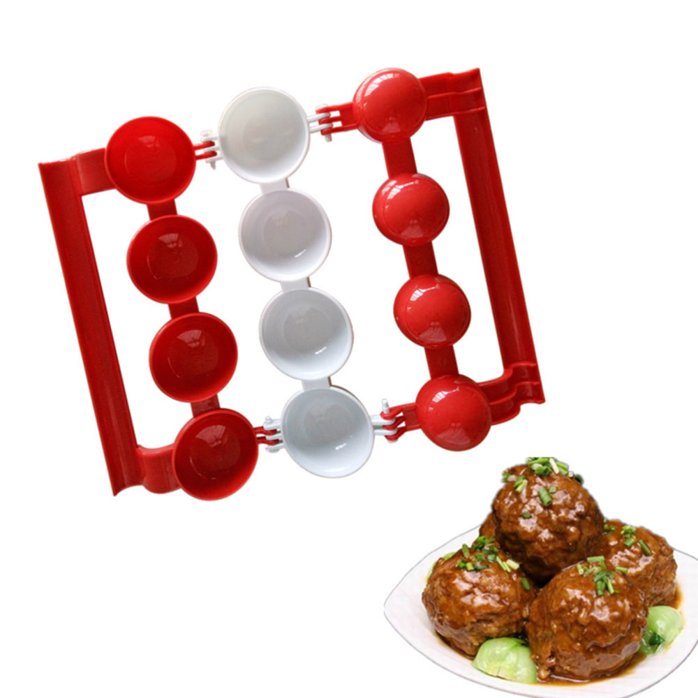 Newbie Meatballs Mold Stuffed Fish Meat Balls Maker Homemade Mould DIY Kitchen Cooking Tools