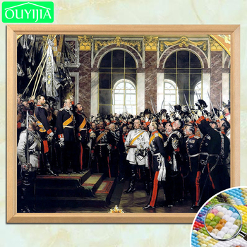 Otto Von Bismarck At The Founding Ceremony Of The German Empire 5D DIY Diamond Painting Full Square Diamond Embroidery Picture image