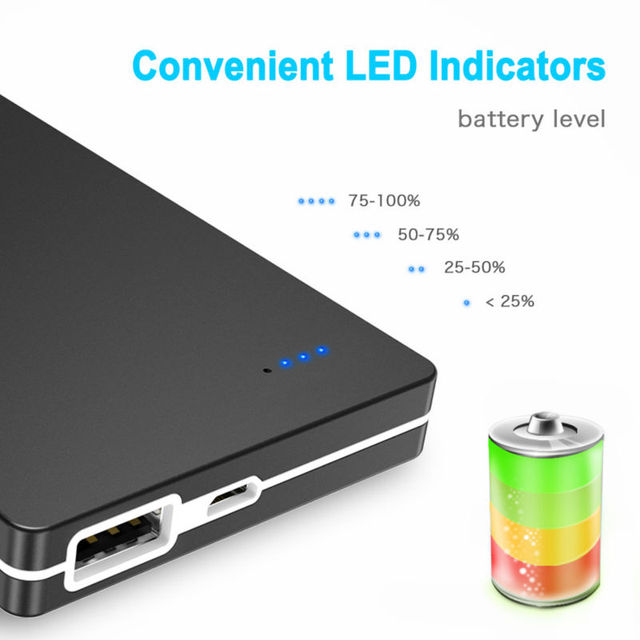 Power Bank 10000mah Cell Phone External Poverbank Charger For Iphone Xiaomi Mi Battery Portable Bateria Externa