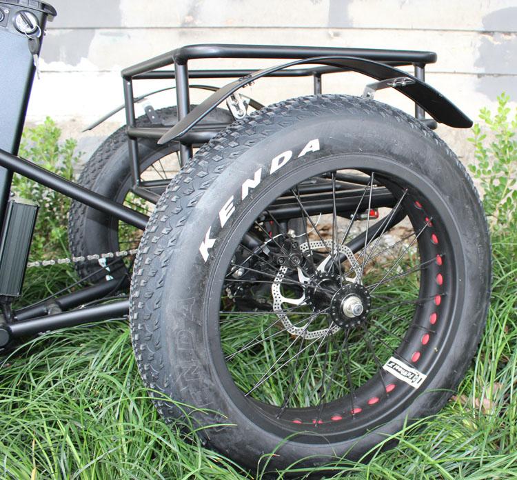 HTB1y7jWXcrrK1Rjy1zeq6xalFXab - 48V 1000W electric three-wheeled snowmobile Electric three-wheeled bicycle fat ebike 20-24inch wheel electric