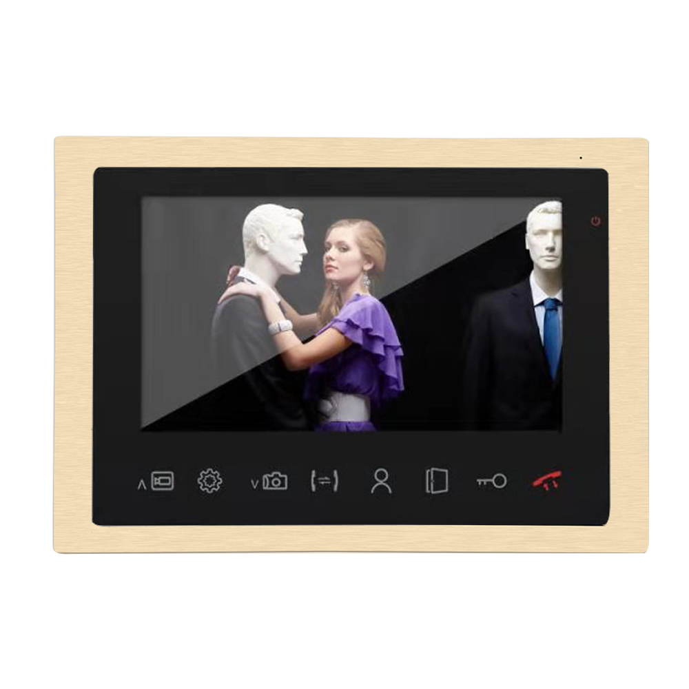 Dragonsview 10 Inch Large Screen Indoor Monitor Video Door Phone Video Intercom AHD 960P Motion Sensor