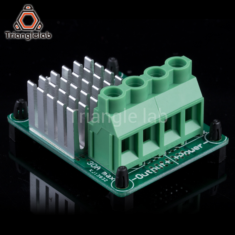 TL-miniMosfet big current for 3d printer Heatbed MKS MOS module exceed update heating controller Hot Bed Power Expansion Board цены онлайн