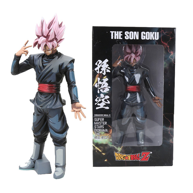 Figuras de Ação Dragon Ball Z Super Saiyan Goku Anime Dragonball Super Estrelas Mestre Diorama Estatueta Coleção Toy Modelo