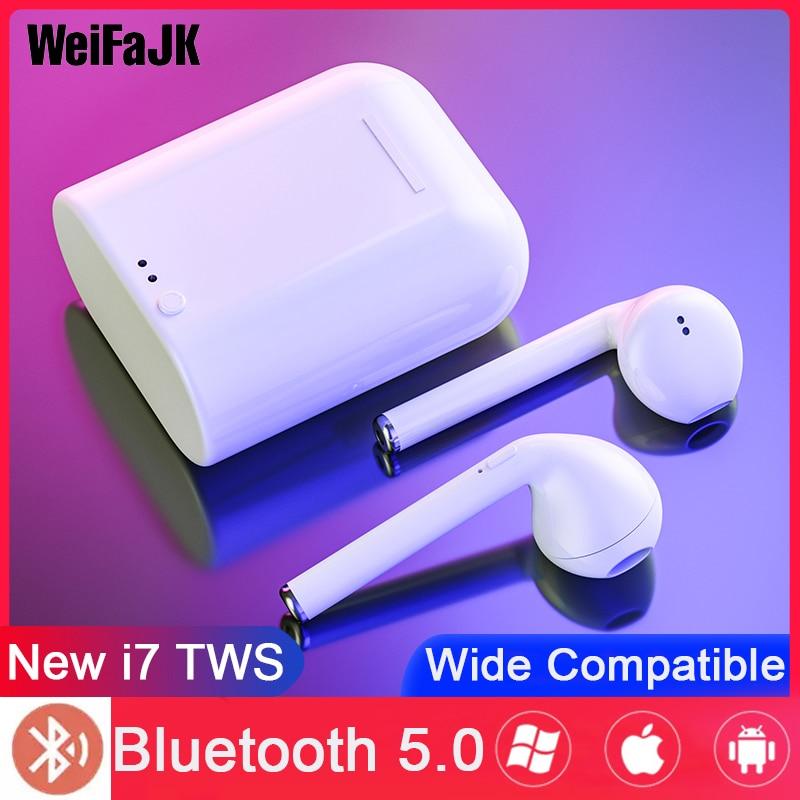 I7s Tws Bluetooth Earphone Mini Wireless Earbuds Sport Handsfree Earphones Cordless Headset With Charging Box For IPhone Xiaomi