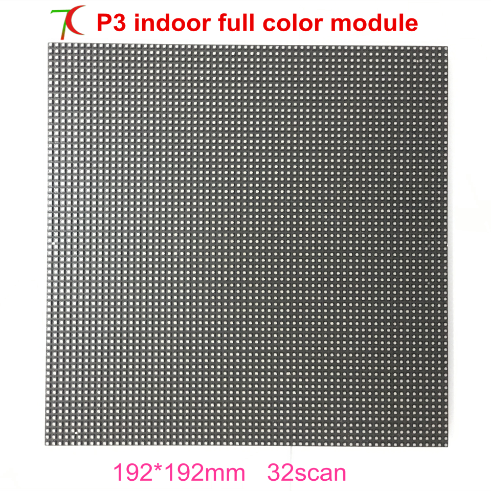 P3 Indoor Smd Full Color Led Module For Media Room Or Meeting Room,192*192mm