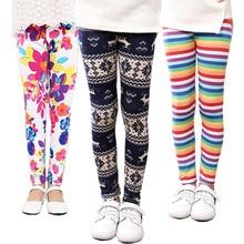 SheeCute/леггинсы для девочек; детские штаны с принтом; детские вязаные леггинсы; сезон весна-осень; 21 цвет; От 2 до 13 лет; SCA001