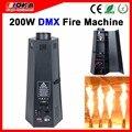 200 W máquina de llama de seis esquinas DMX máquina de fuego equipo de efecto de escenario máquina de llama de fuego escenario profesional y DJ