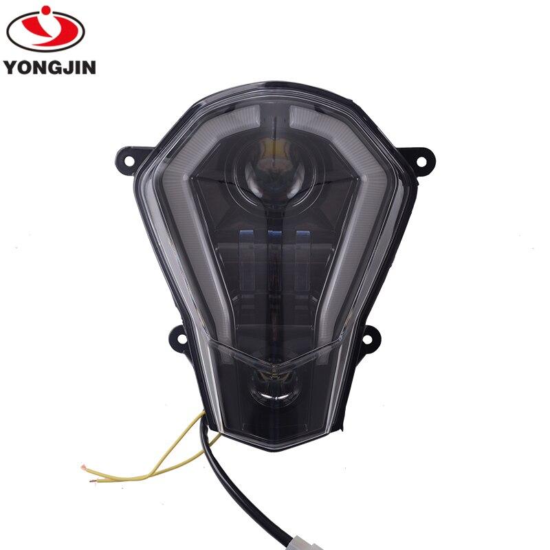 LED Headlight With Turn Signal Light For 2013-2016 KTM Duke 125 / 200 / 390